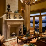 Interior of Sarasota Waterfront Luxury Home Built By Murray Home Inc.