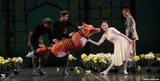 The secret garden by the sarsota ballet